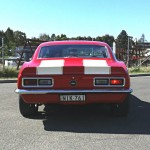 Chev 1968 Camaro SS Showday 107