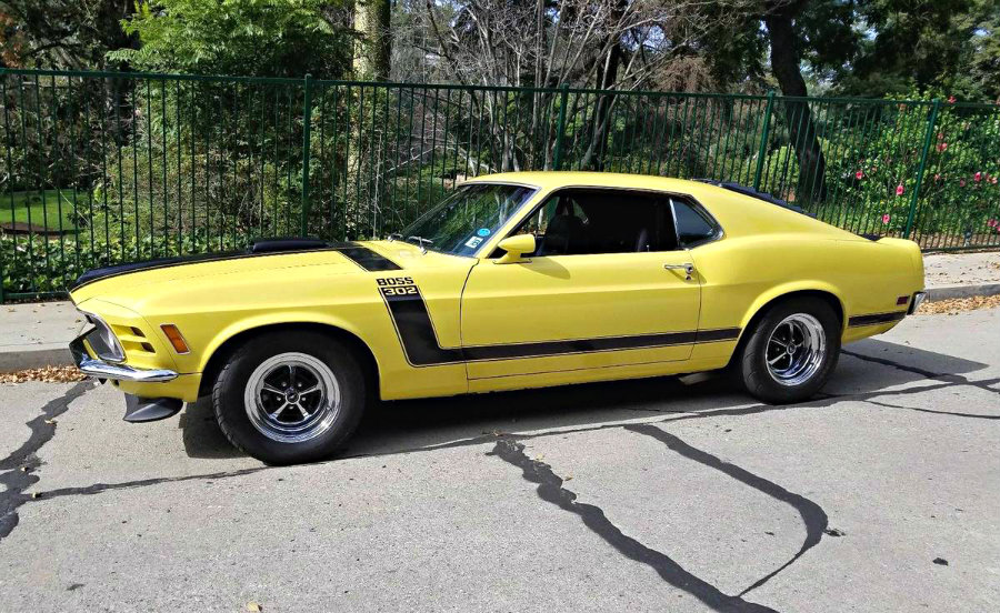 Ford Mustang Boss 302 2 Door Fastback Coupe 1970 Apex